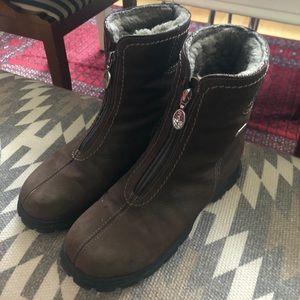 PAJAR Women's Zip Front Booties, 8